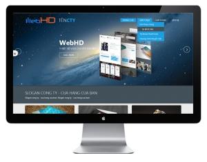 Mẫu thiết kế website - Web HD 01