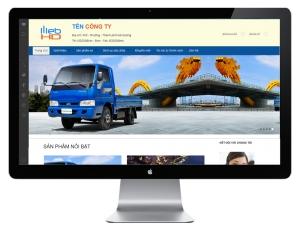 Mẫu thiết kế website -  Web HD 05