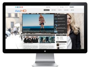Mẫu thiết kế website - Web HD 02