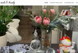 Thiết kế website lĩnh vực làm đẹp