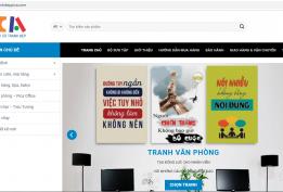 Thiết kế website trang trí nội thất 1