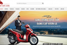 Thiết kế website cửa hàng xe máy